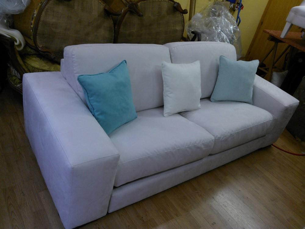 Tapizado sof s y sillones en madrid barrio del pilar tapicer a luis e hijos - Tapizado de sofas ...