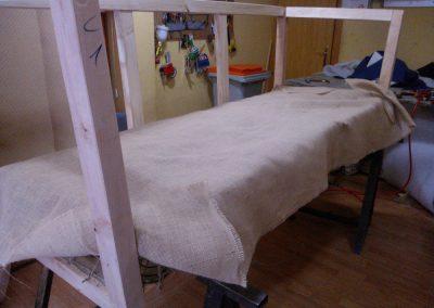 proceso de tapizado de sofa
