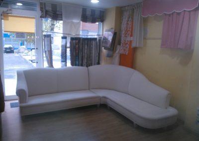 tapizado de sofá esquinera