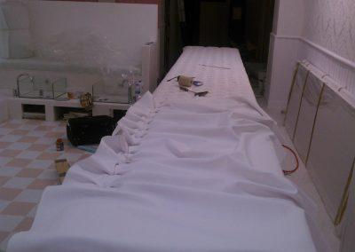 Trabajo de Tapicería en Peluquería