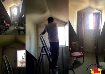 Trabajos realizados de tapicera recientes